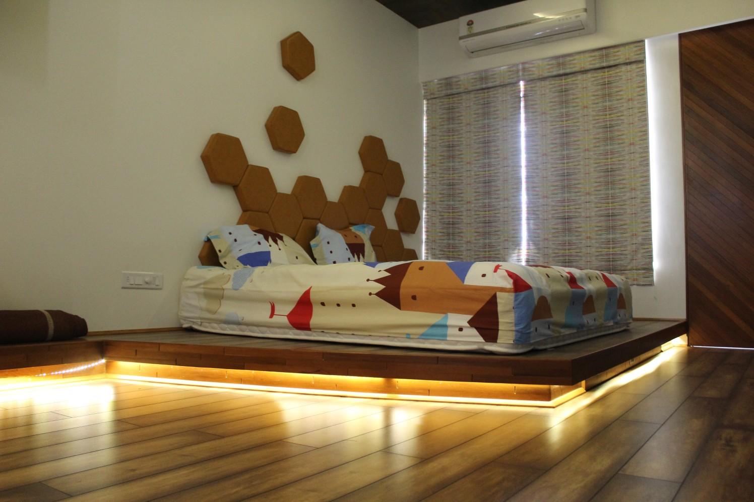 Hexagon Design by Ankit Atkotiya Contemporary | Interior Design Photos & Ideas