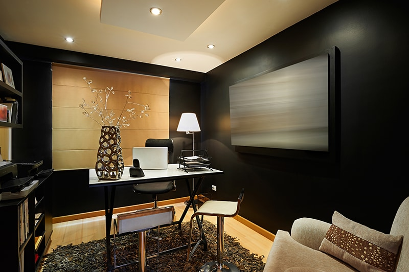 The Chic Office by Akshar Interiors Contemporary | Interior Design Photos & Ideas
