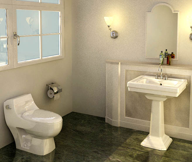 Vintage Bath by Swastik Interiors Bathroom Vintage | Interior Design Photos & Ideas