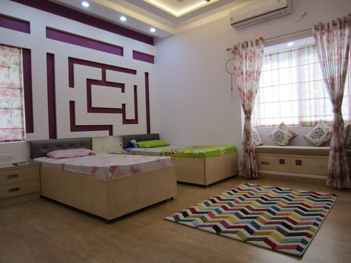 maze in the room by Richa Jatale Modern | Interior Design Photos & Ideas