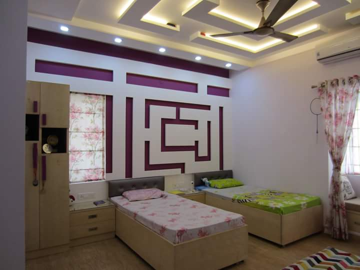 mazy room by Richa Jatale Modern | Interior Design Photos & Ideas