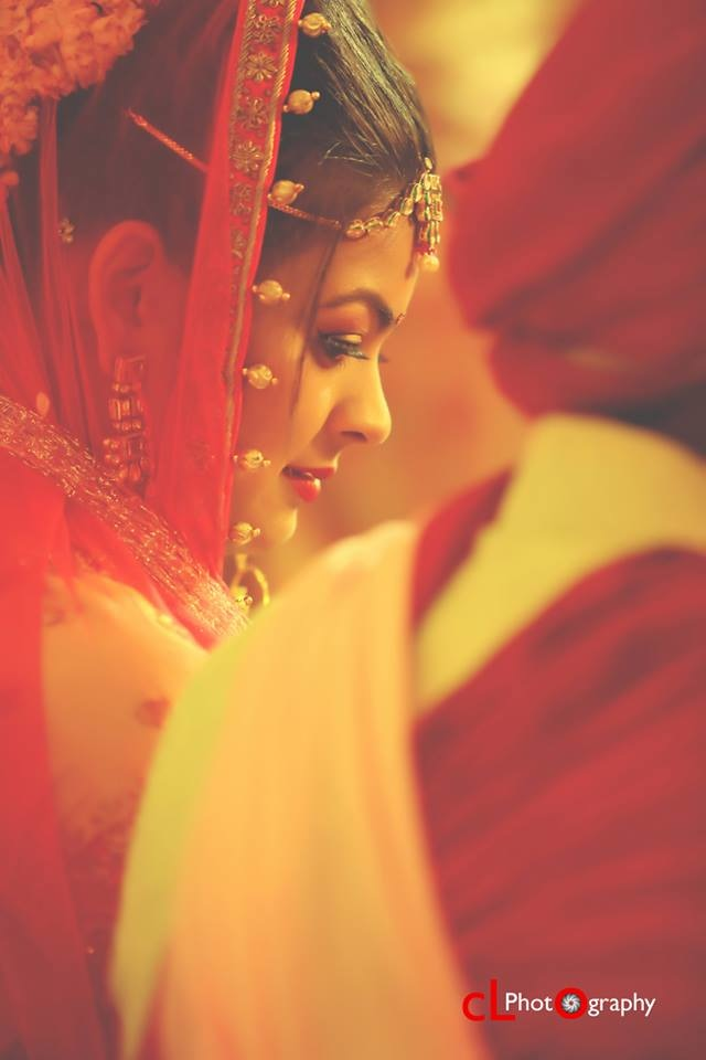 Red Hues Of Bride by CL Photography Wedding-photography | Weddings Photos & Ideas
