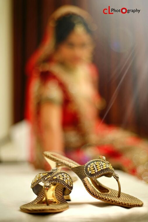 Bridal footwear by CL Media Solutions Wedding-photography | Weddings Photos & Ideas