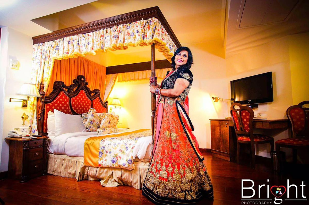 Bridal Photoshoot On Engagement by Gitesh Dhawan Wedding-photography Wedding-dresses | Weddings Photos & Ideas
