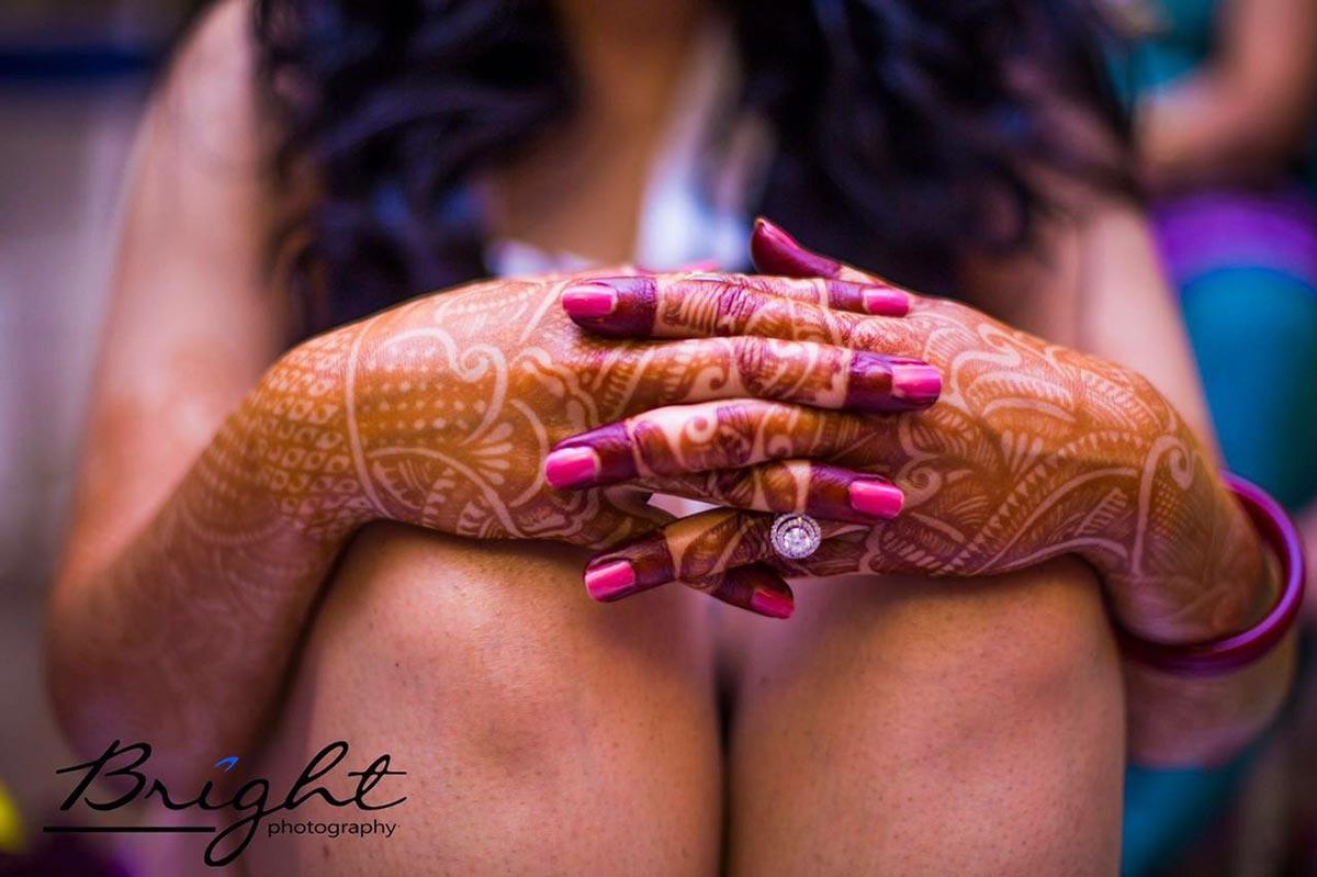Ring Shot On Haldi by Gitesh Dhawan Wedding-photography | Weddings Photos & Ideas