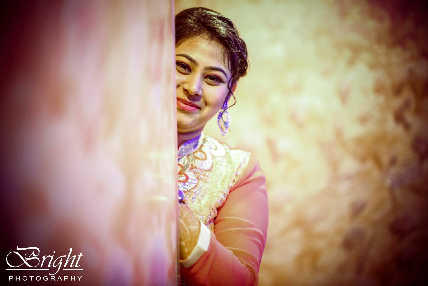 Bride's Shot On Engagement Day by Gitesh Dhawan Wedding-photography | Weddings Photos & Ideas
