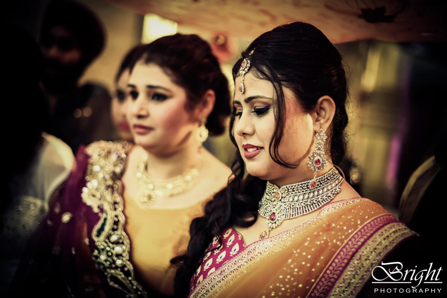 Bridal Bright Makeup And Diamond Accessories by Gitesh Dhawan Wedding-photography | Weddings Photos & Ideas