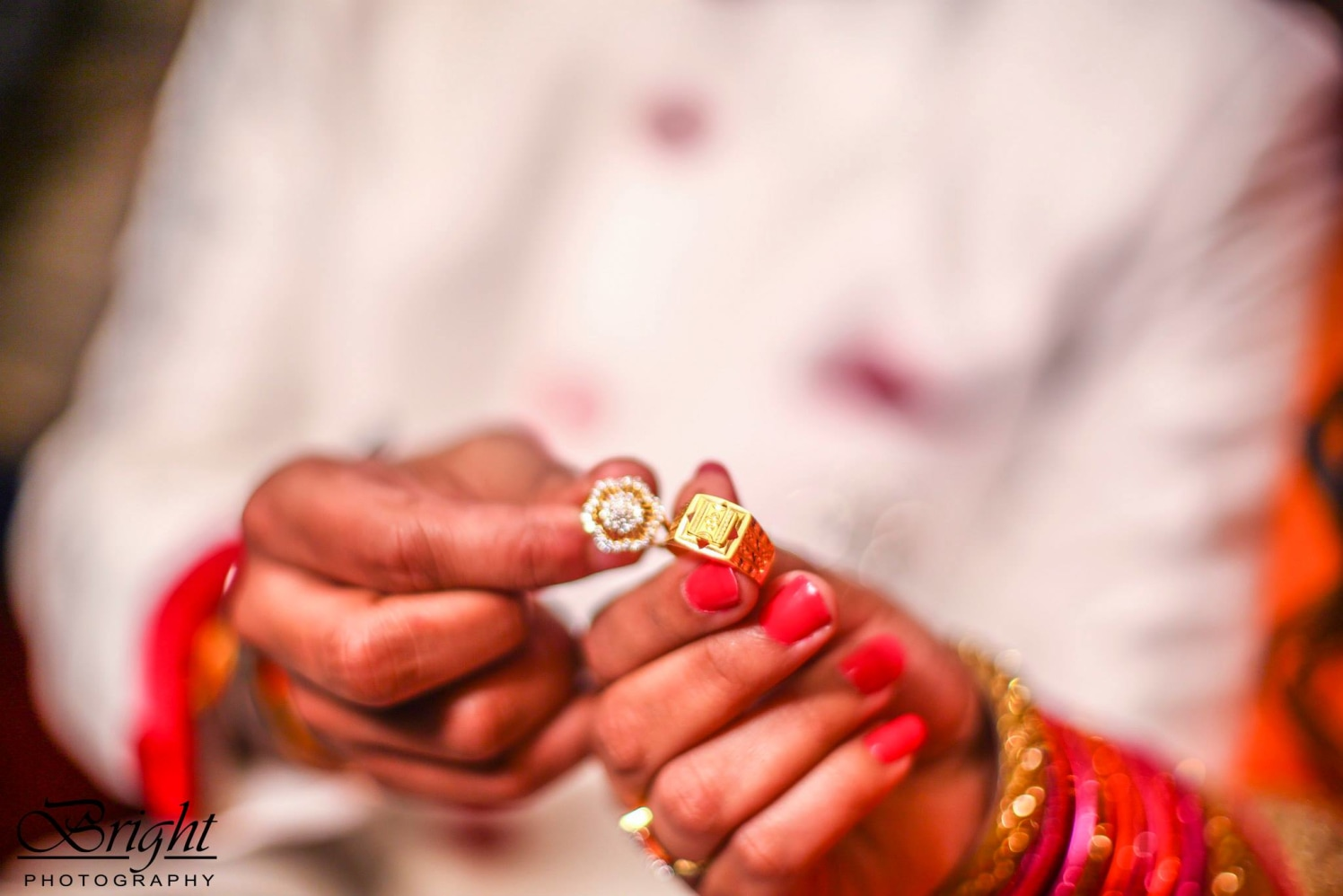 Engagement Day Rings by Gitesh Dhawan Wedding-photography Bridal-jewellery-and-accessories | Weddings Photos & Ideas