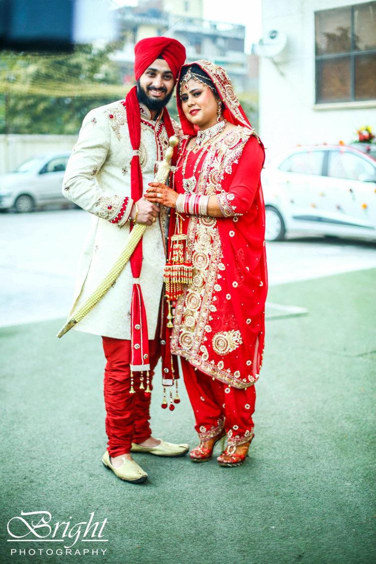 Punjabi Bride And Groom's Photo-shoot by Gitesh Dhawan Wedding-photography Wedding-dresses | Weddings Photos & Ideas