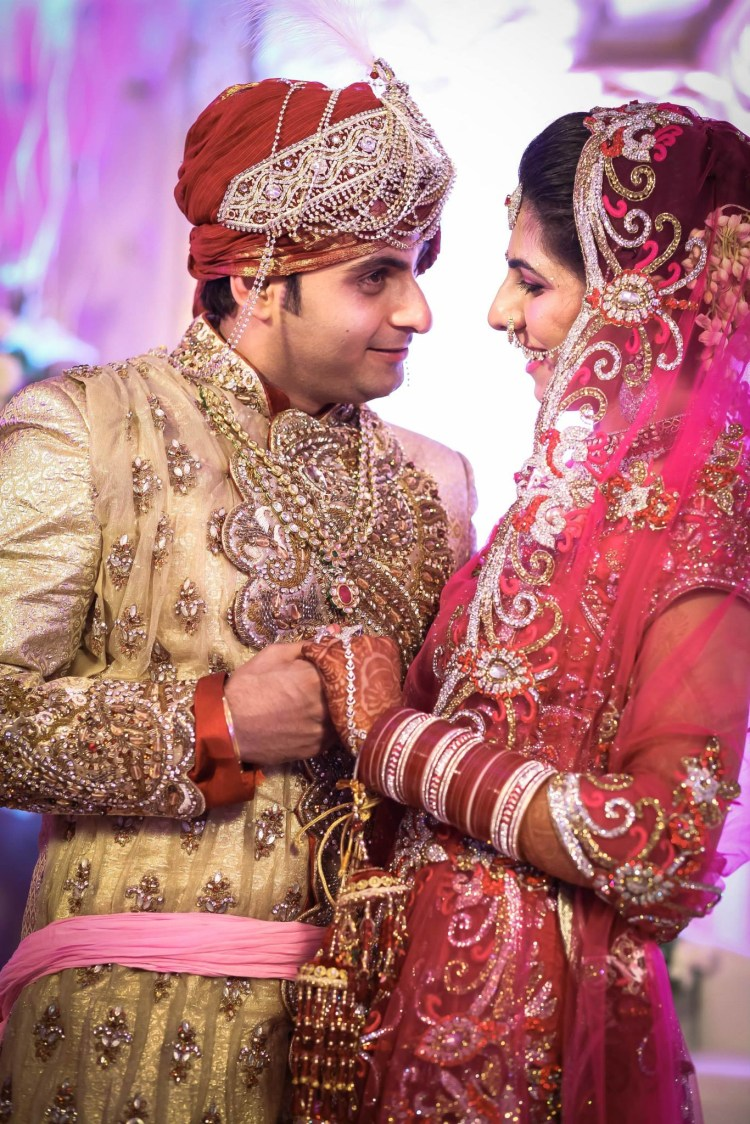 Holding Hands Shot Of Bride And Groom by Gitesh Dhawan Wedding-photography | Weddings Photos & Ideas