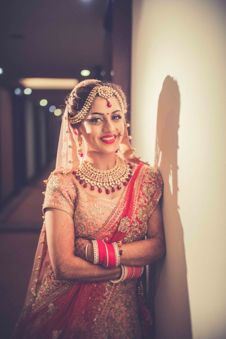 Indian Bride Wearing Kundan Jewellery by Gitesh Dhawan Wedding-photography Bridal-jewellery-and-accessories | Weddings Photos & Ideas