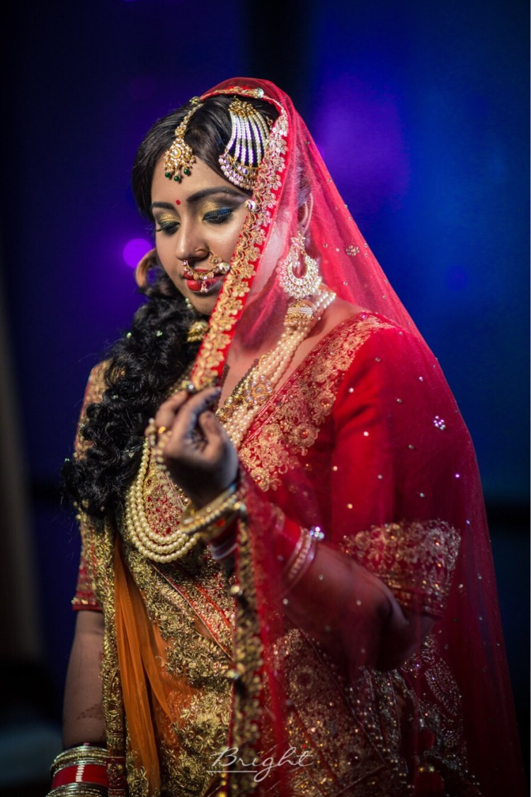 Bridal Bronze Eye Makeup Ideas by Gitesh Dhawan Wedding-photography Bridal-makeup | Weddings Photos & Ideas