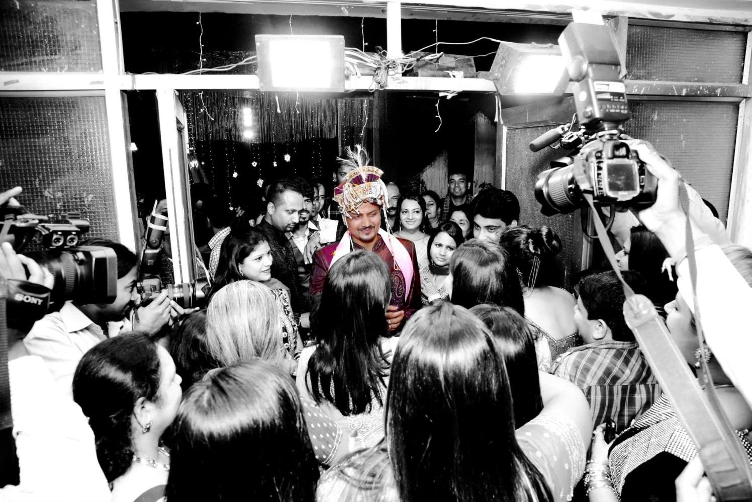 Groom's Entry Shot by Gitesh Dhawan Wedding-photography | Weddings Photos & Ideas
