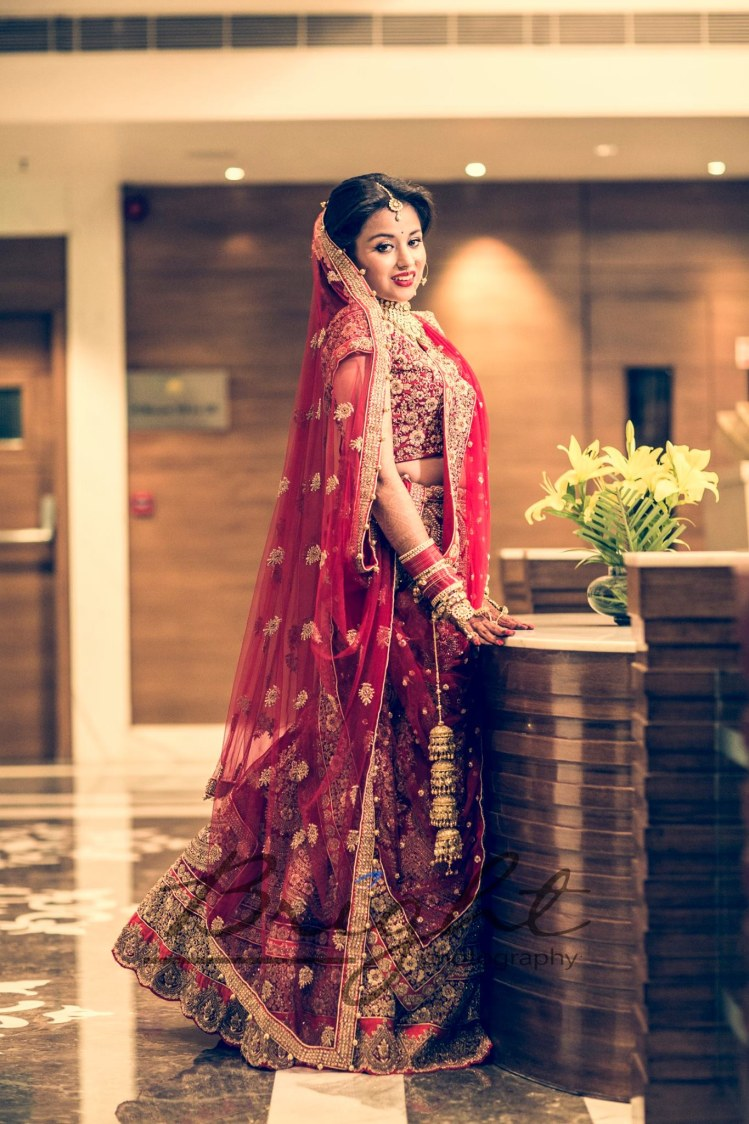 Classic Portrait Of Bride by Gitesh Dhawan Wedding-photography | Weddings Photos & Ideas