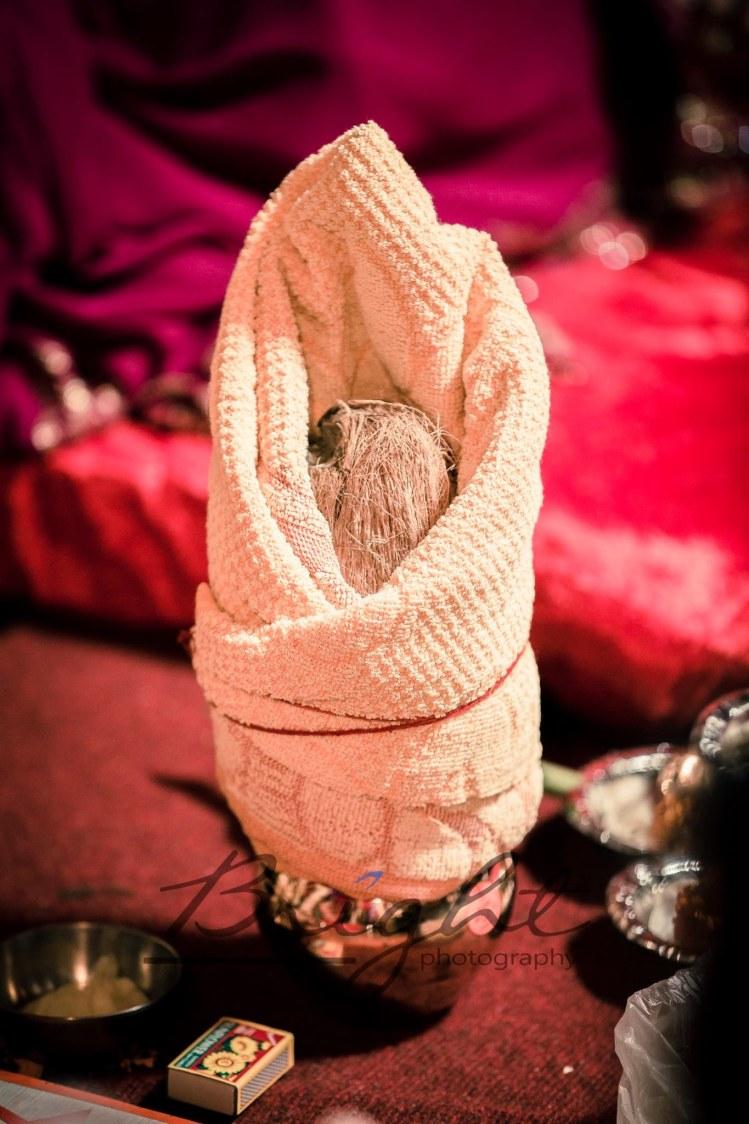 Tied coconut! by Gitesh Dhawan Wedding-photography | Weddings Photos & Ideas