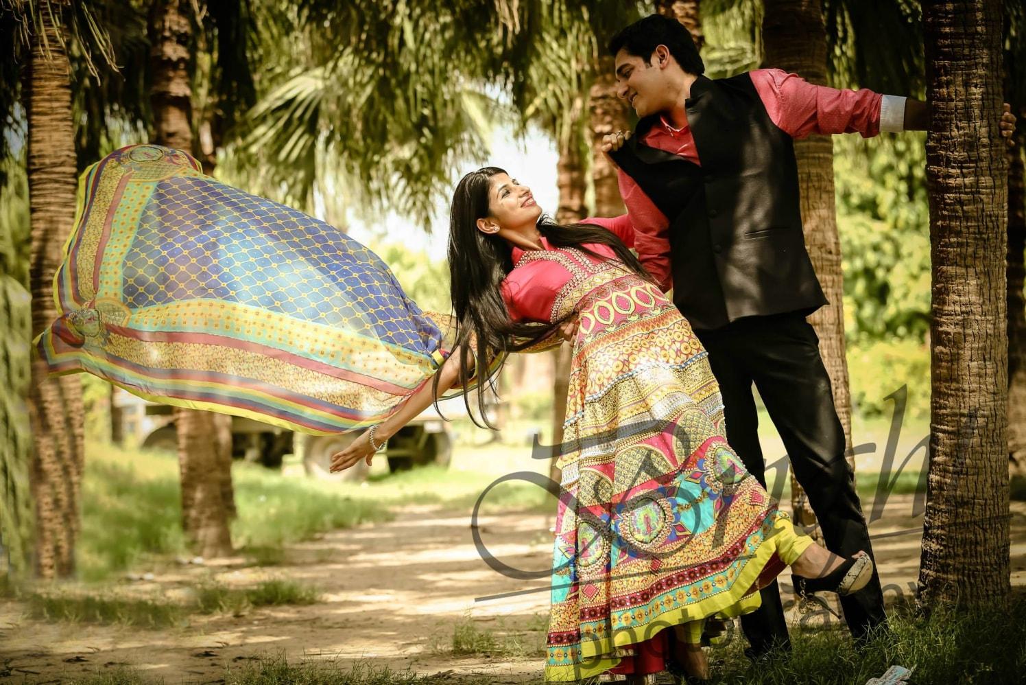 Pre-wedding Shoot In Woods by Gitesh Dhawan Wedding-photography | Weddings Photos & Ideas