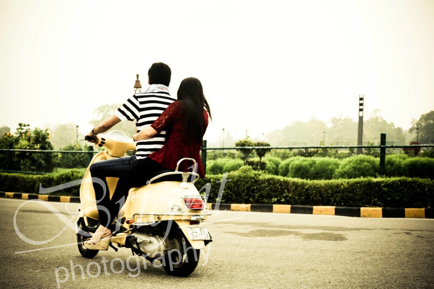 Scooty of love! by Gitesh Dhawan Wedding-photography | Weddings Photos & Ideas