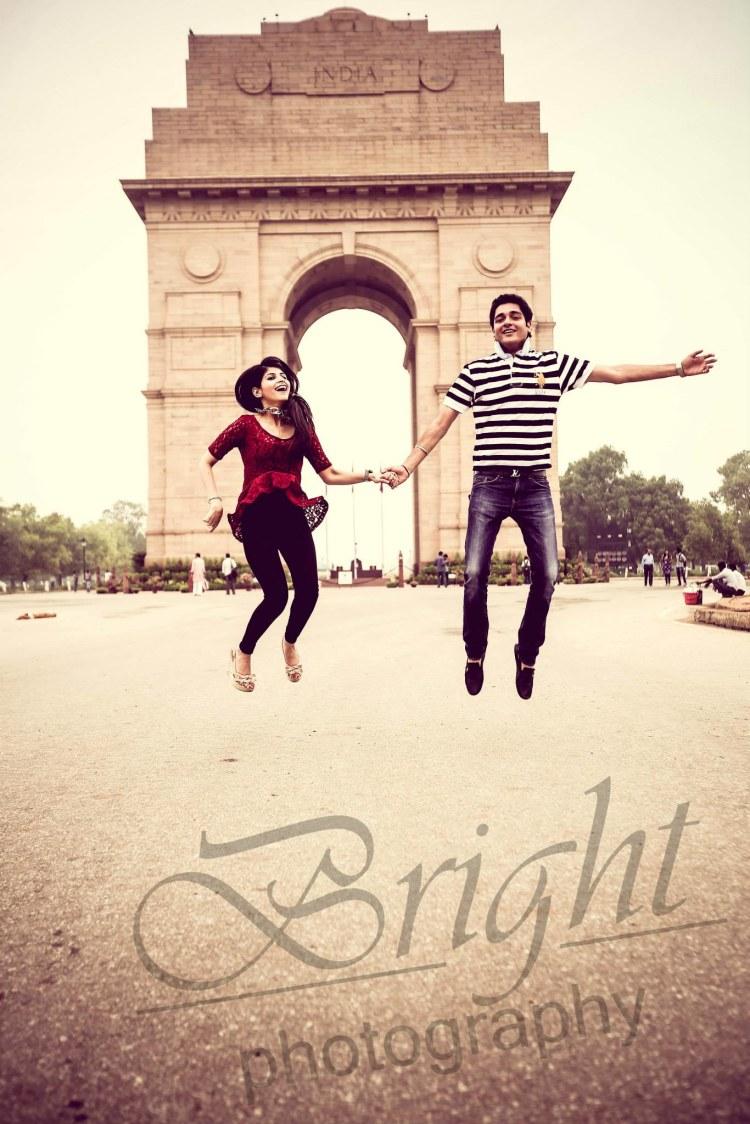 Jump of joy! by Gitesh Dhawan Wedding-photography | Weddings Photos & Ideas