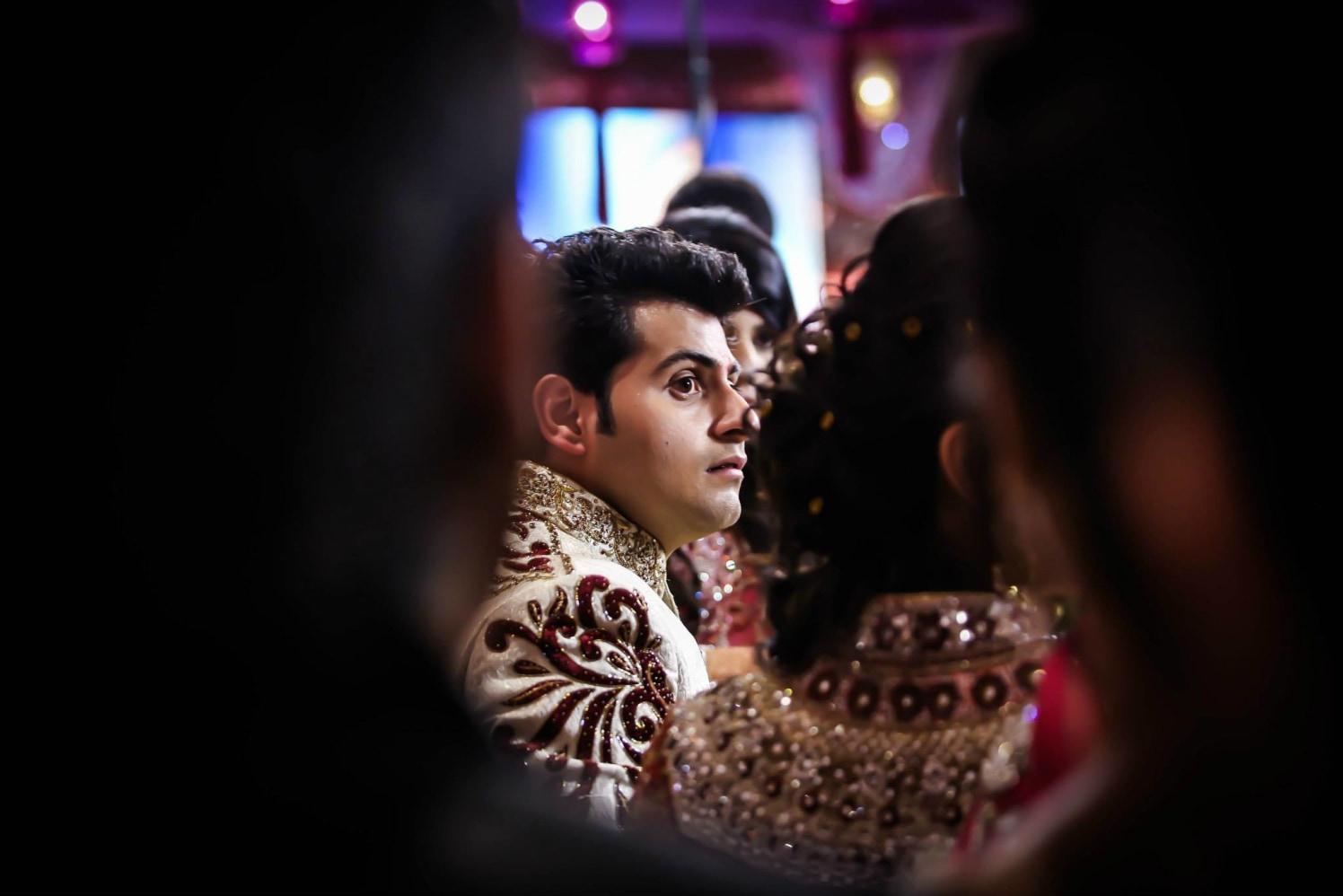 The Groom's Candid Shot by Gitesh Dhawan Wedding-photography | Weddings Photos & Ideas