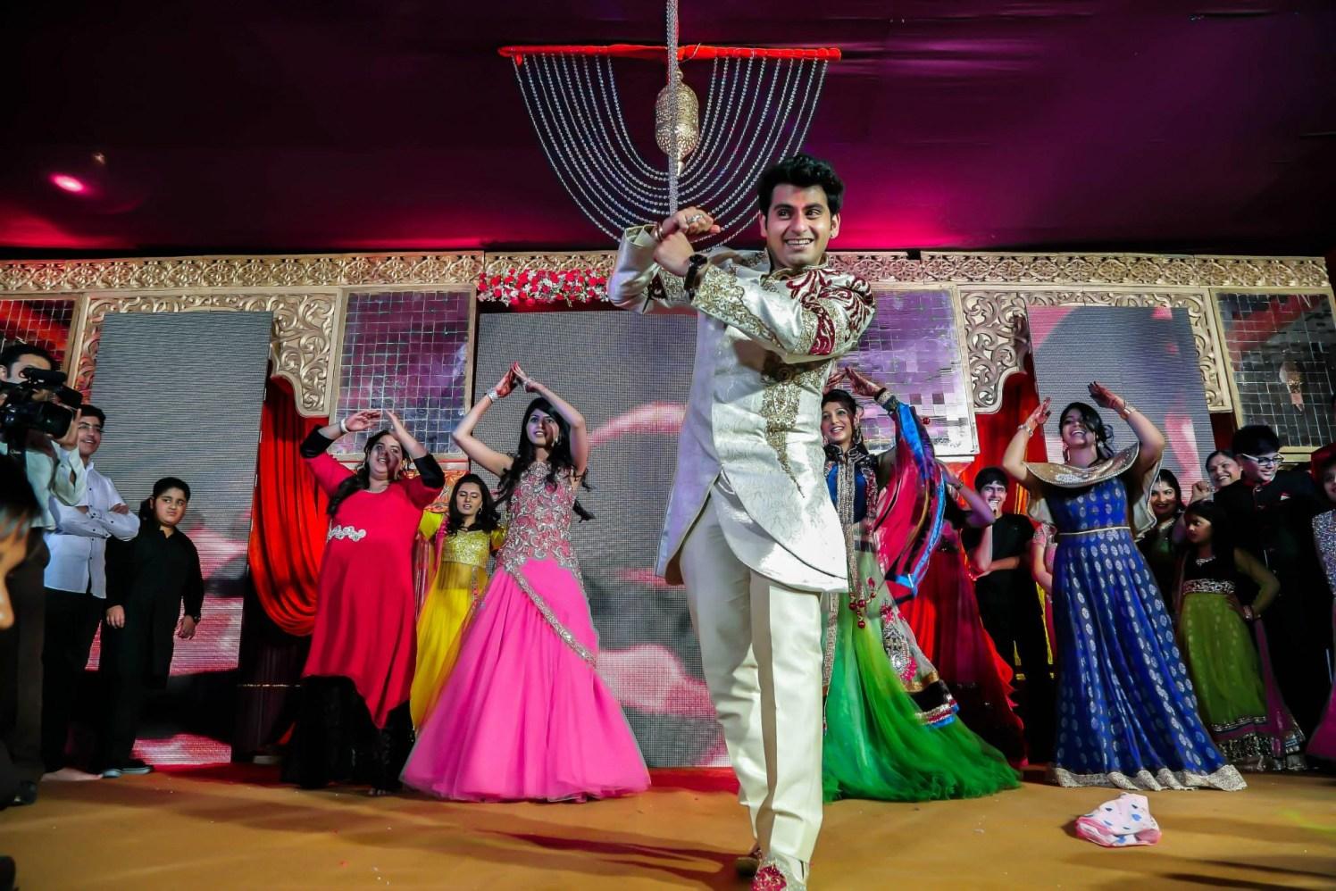 Groom Wedding Performance by Gitesh Dhawan Wedding-photography | Weddings Photos & Ideas