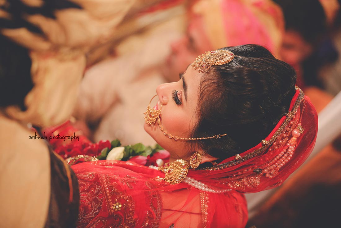 Bridal portrait by Candid Films Wedding-photography Bridal-jewellery-and-accessories Bridal-makeup | Weddings Photos & Ideas