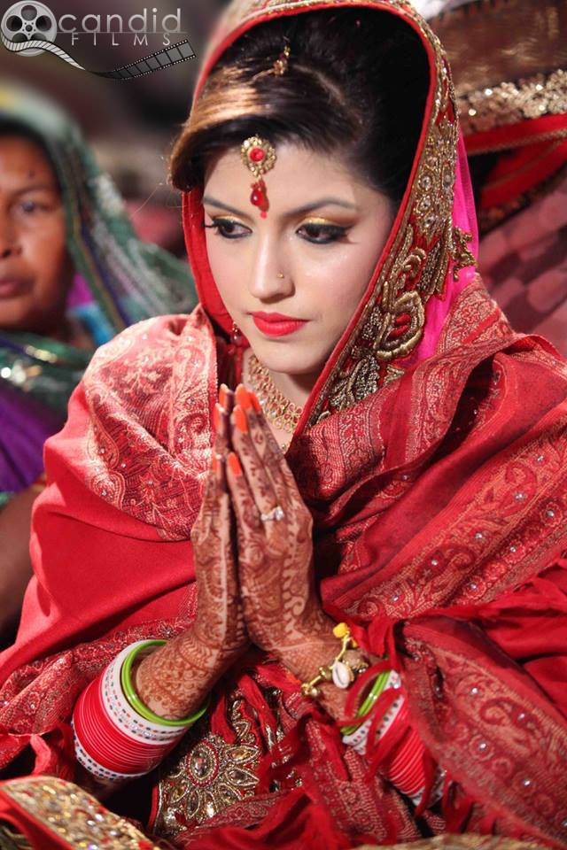 Crimson Shades Of Bride by Candid Films Wedding-photography | Weddings Photos & Ideas