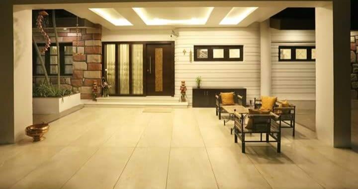 Spacious Veranda With Seating Area by Gaurav Kalra Open-spaces Contemporary   Interior Design Photos & Ideas