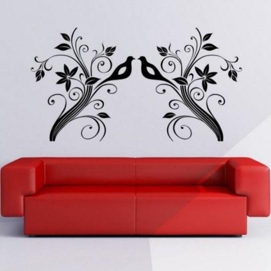 Red sofa! by R.N Interior Living-room | Interior Design Photos & Ideas