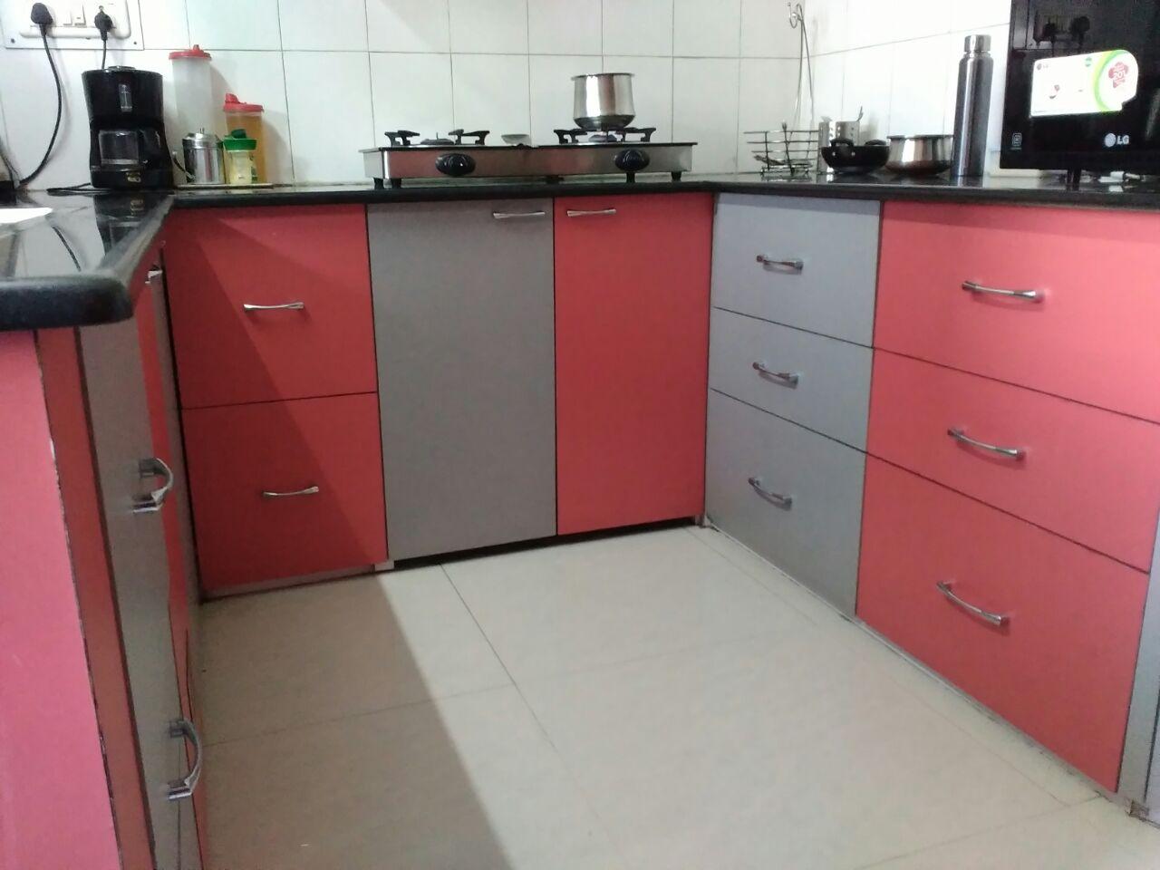 Modular kitchen! by R.N Interior Modular-kitchen   Interior Design Photos & Ideas