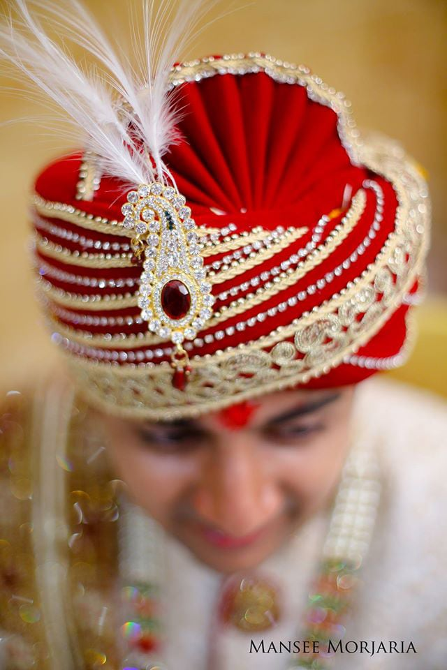 Groom's turban by Capture Memories Wedding-photography | Weddings Photos & Ideas