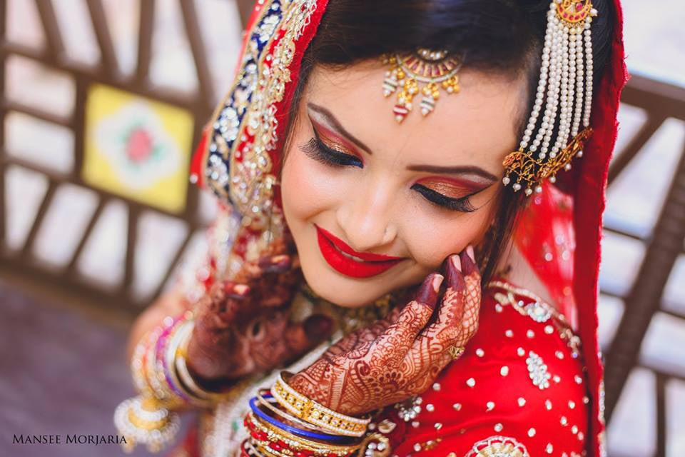Bridal makeup and accessories by Capture Memories Wedding-photography | Weddings Photos & Ideas