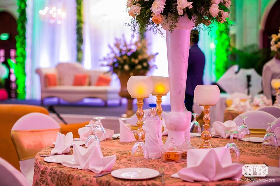 White And Golden Wedding Decor by Jatin Wedding-decor | Weddings Photos & Ideas