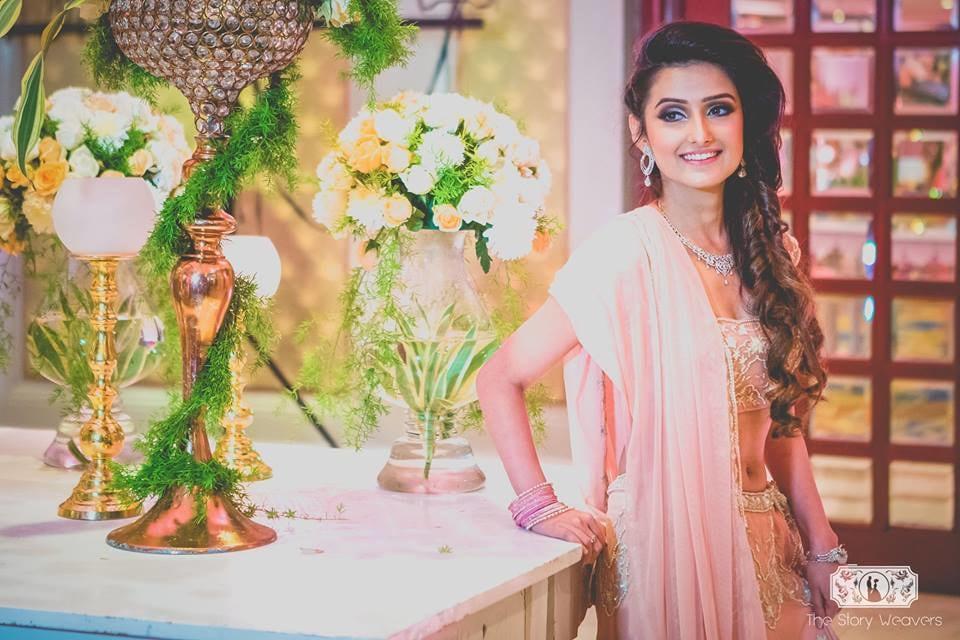 Peach Shade Lehenga of Bride by Jatin Wedding-photography Wedding-decor | Weddings Photos & Ideas