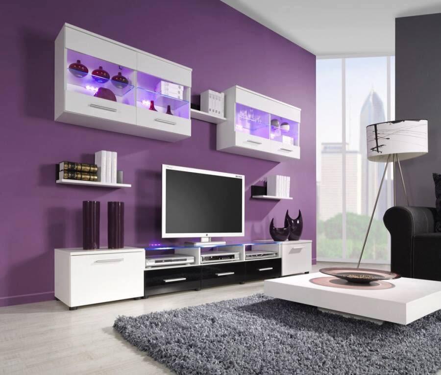 Living Room With Soft Fibre Rug by Dhi Design Studio Living-room Modern | Interior Design Photos & Ideas