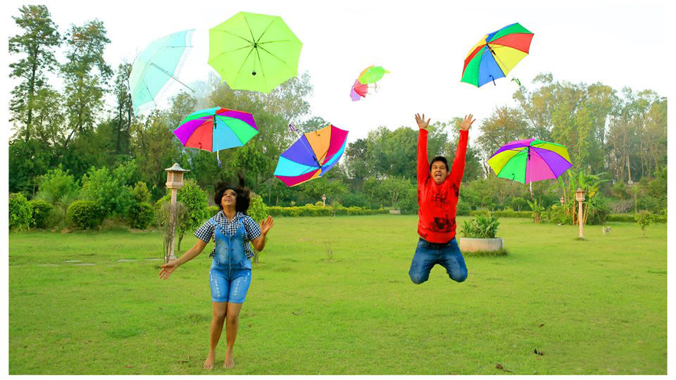 Rainbowy umbrellas by DEV RAJ FILMS & PHOTOGRAPHY Wedding-photography | Weddings Photos & Ideas