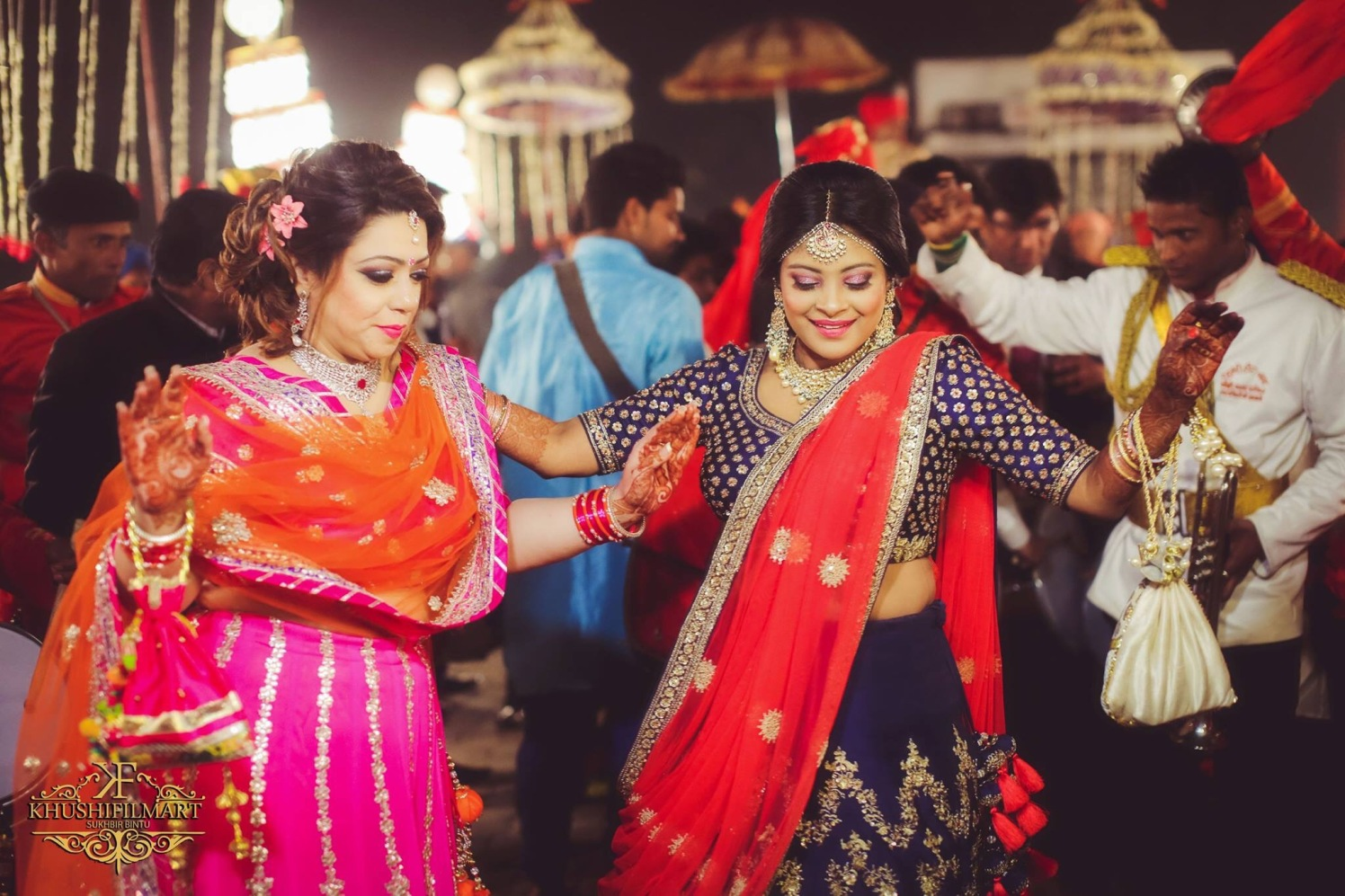 Dancing beauties! by Sukhi Singh Wedding-photography | Weddings Photos & Ideas