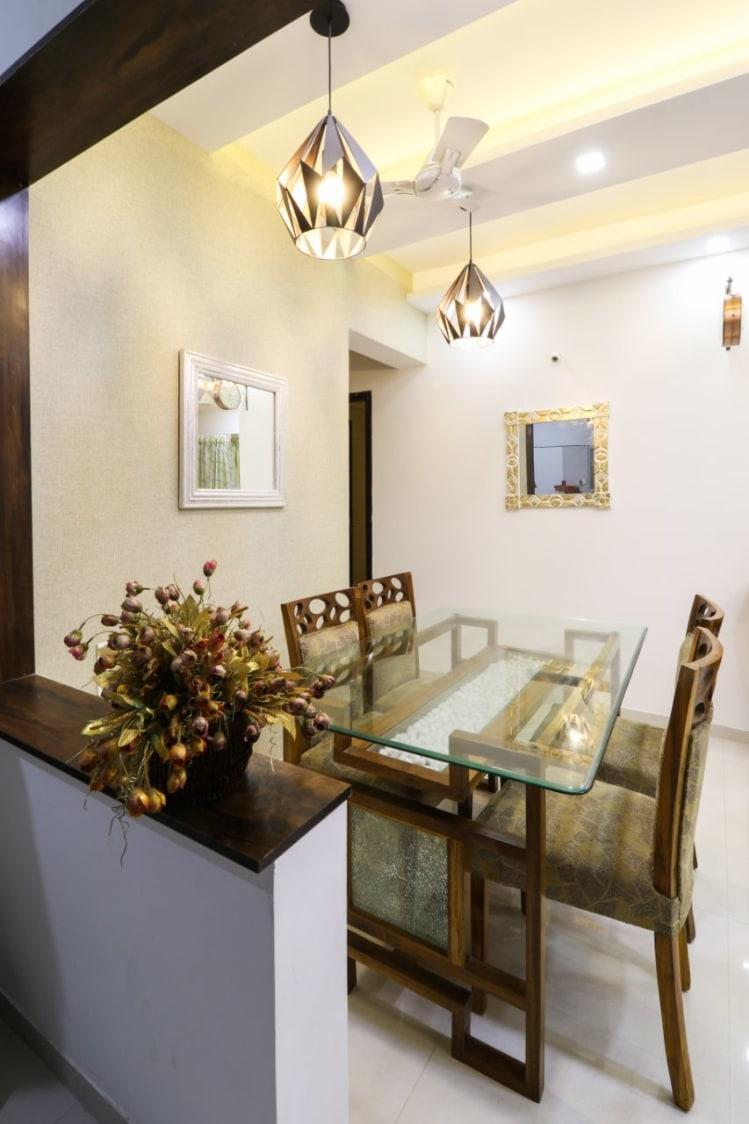 Garnish Site by Wood Works Club Dining-room Modern | Interior Design Photos & Ideas