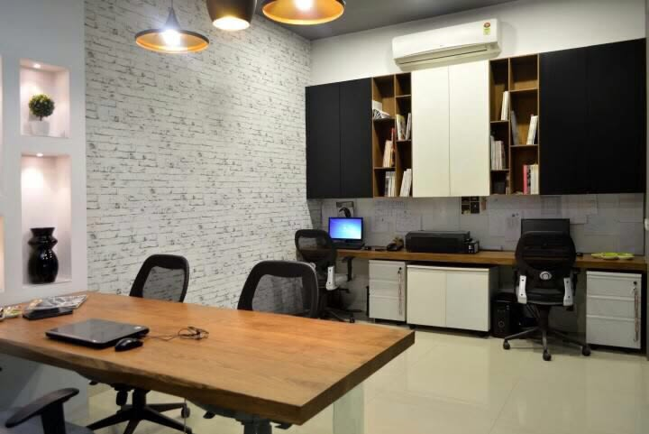 Modern Office by HOC Designarch Modern | Interior Design Photos & Ideas
