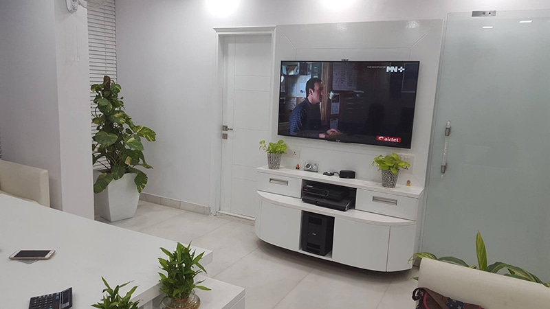 Modern Office by HOC Designarch Modern | Interior Design Photos & Ideas