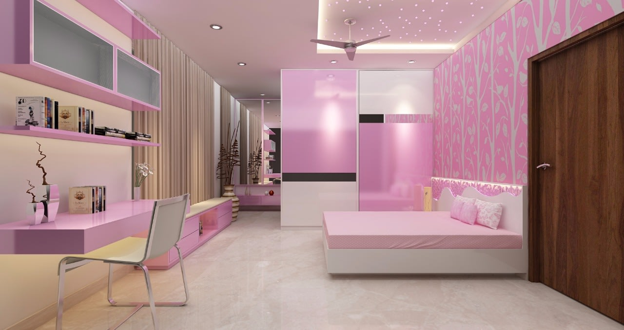 Bedroom! by Mohammad Riyaz Bedroom Modern | Interior Design Photos & Ideas