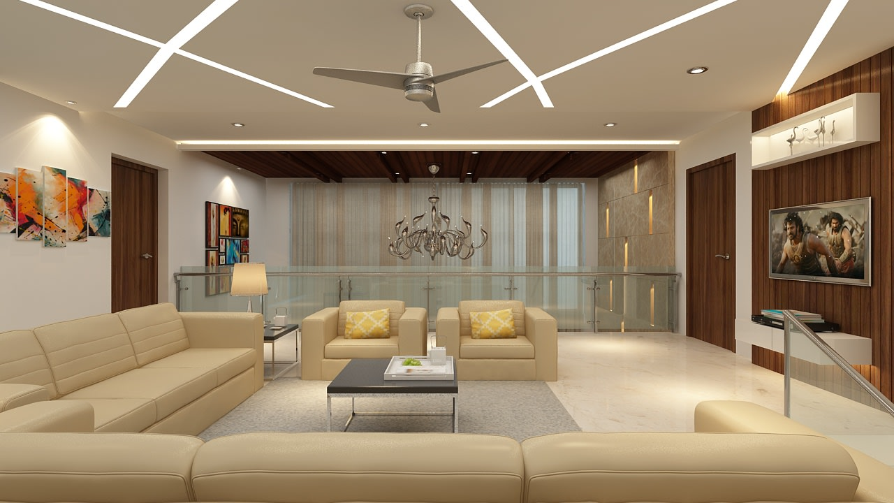 A modern living room! by Mohammad Riyaz Living-room Modern | Interior Design Photos & Ideas