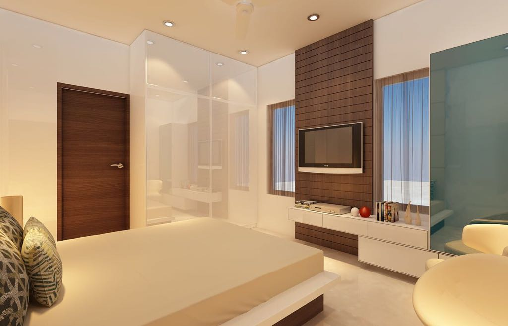 A modern bedroom! by Mohammad Riyaz Bedroom Modern | Interior Design Photos & Ideas