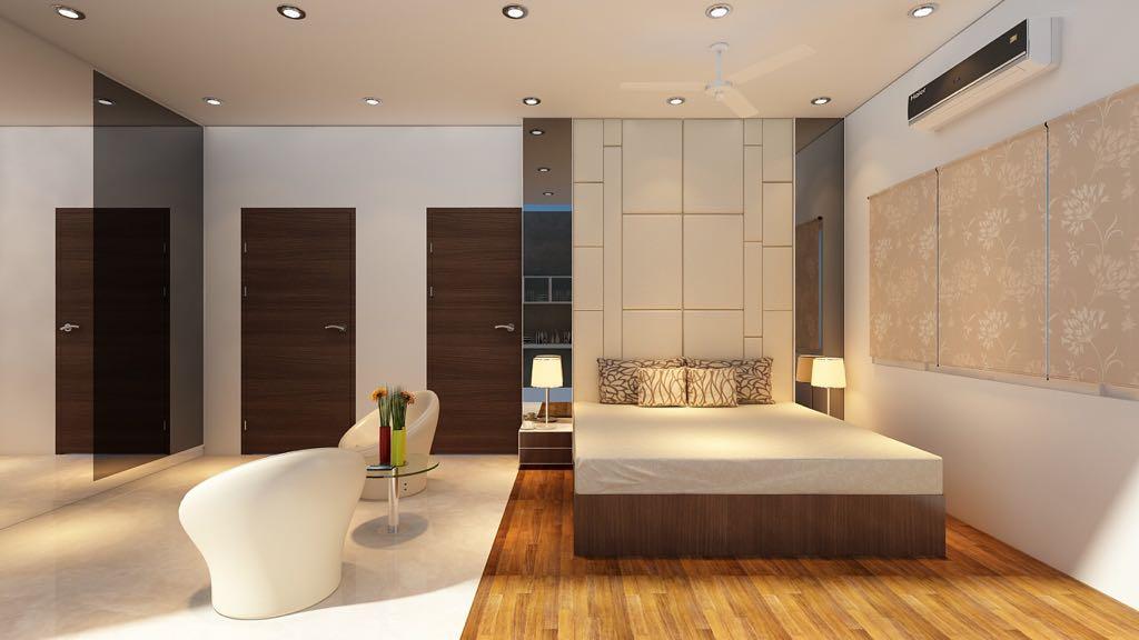 A simple bedroom! by Mohammad Riyaz Modern | Interior Design Photos & Ideas