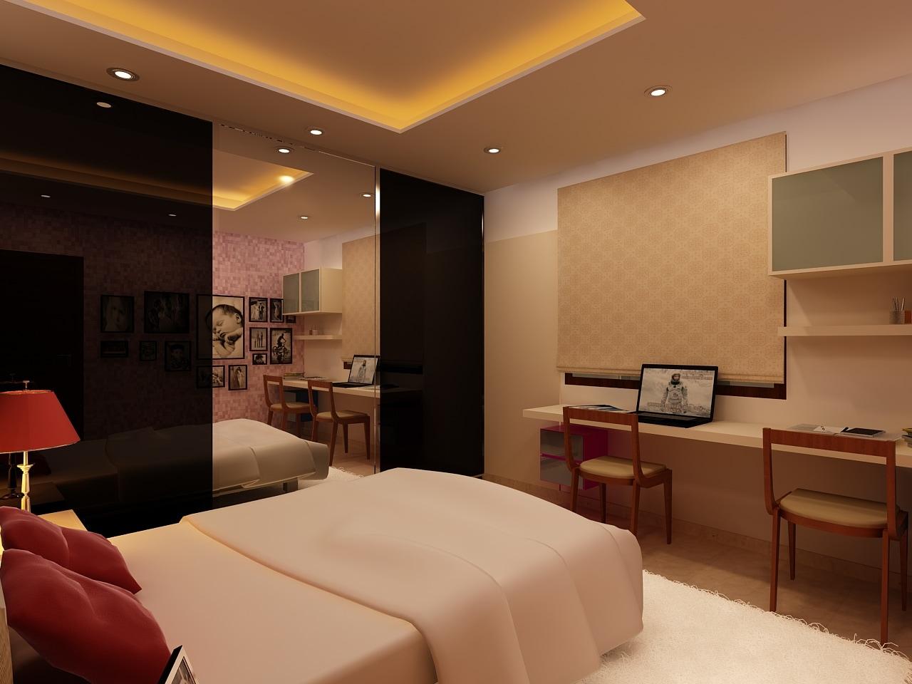 Modern Bedroom! by Mohammad Riyaz Bedroom Modern | Interior Design Photos & Ideas