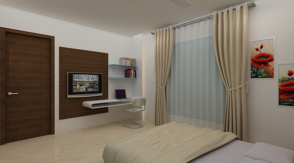Contemporary bedroom by Mohammad Riyaz Bedroom Contemporary | Interior Design Photos & Ideas