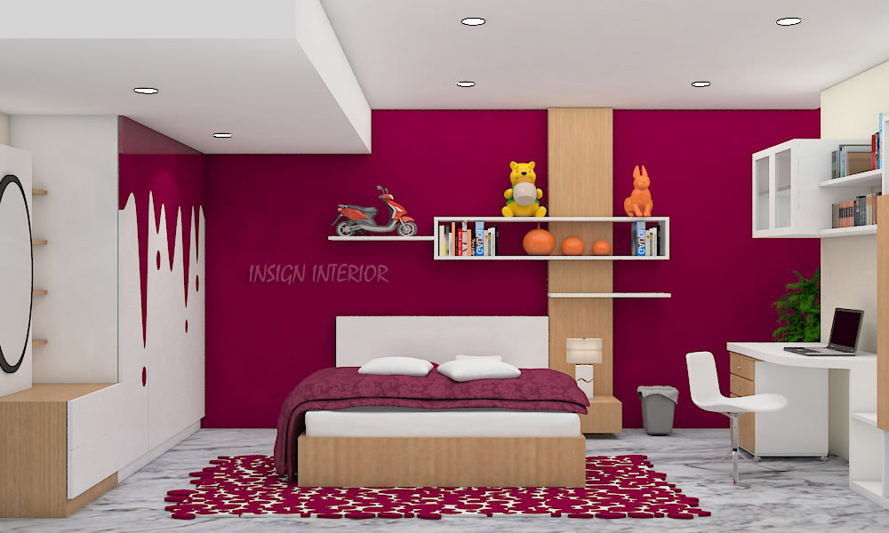 Magenta is the new pink by Insign Contemporary | Interior Design Photos & Ideas