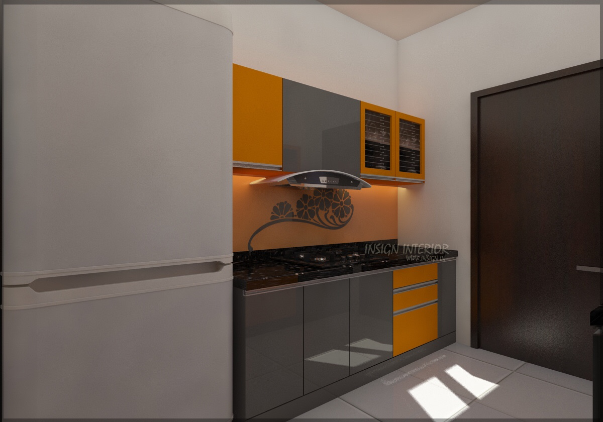 orange bar by Insign Modern | Interior Design Photos & Ideas