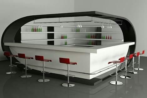 Modern home bar by Build Craft Associates  Indoor-spaces Modern | Interior Design Photos & Ideas