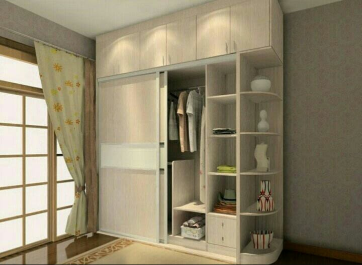 3D design of a wooden wardrobe by Build Craft Associates  Bedroom Modern | Interior Design Photos & Ideas