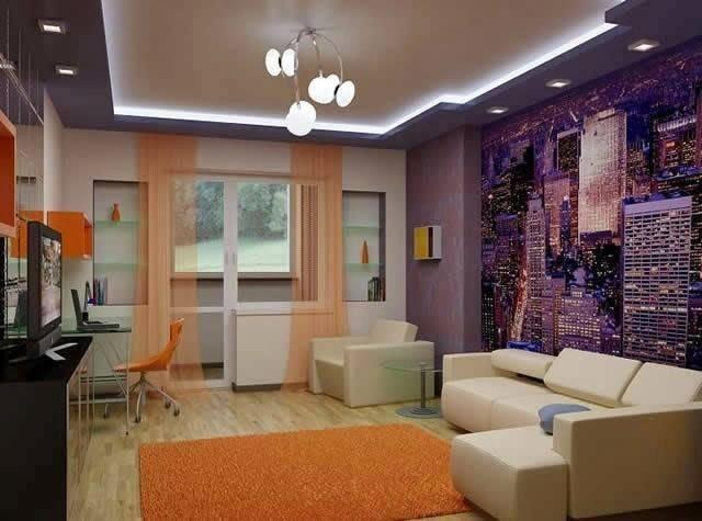 Modern living room by Build Craft Associates  Living-room Modern | Interior Design Photos & Ideas